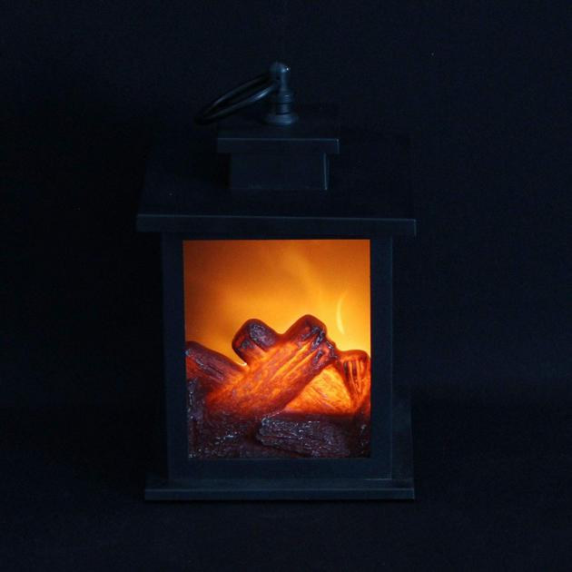 LED-Tischkamin mit faszinierendem Feuer-Leuchteffekt